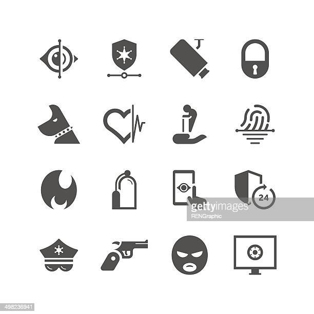 Home Security & Care Icon Set | Unique Series