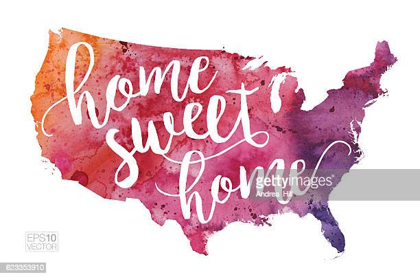 809 Home Sweet Home High Res Illustrations Getty Images
