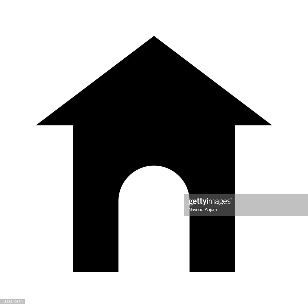 home thin line vector icon