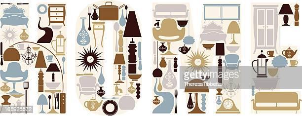 home - ceramics stock illustrations, clip art, cartoons, & icons