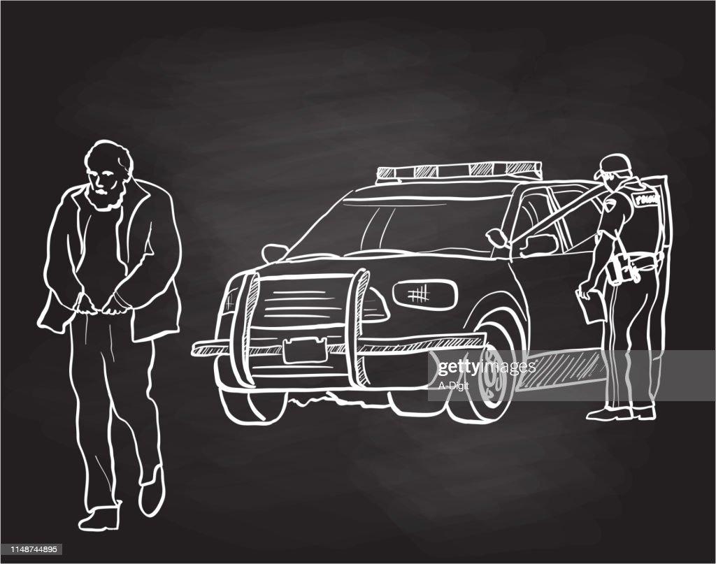 Homeless Crisis Chalkboard : stock illustration