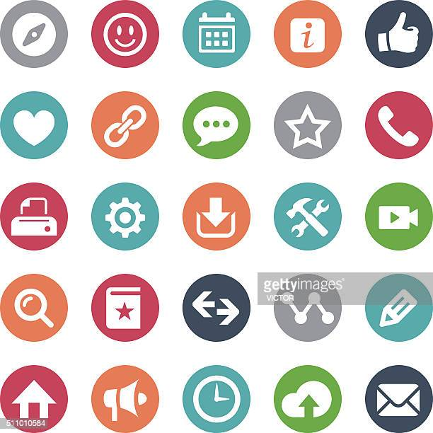 homepage icons - bijou series - information symbol stock illustrations, clip art, cartoons, & icons