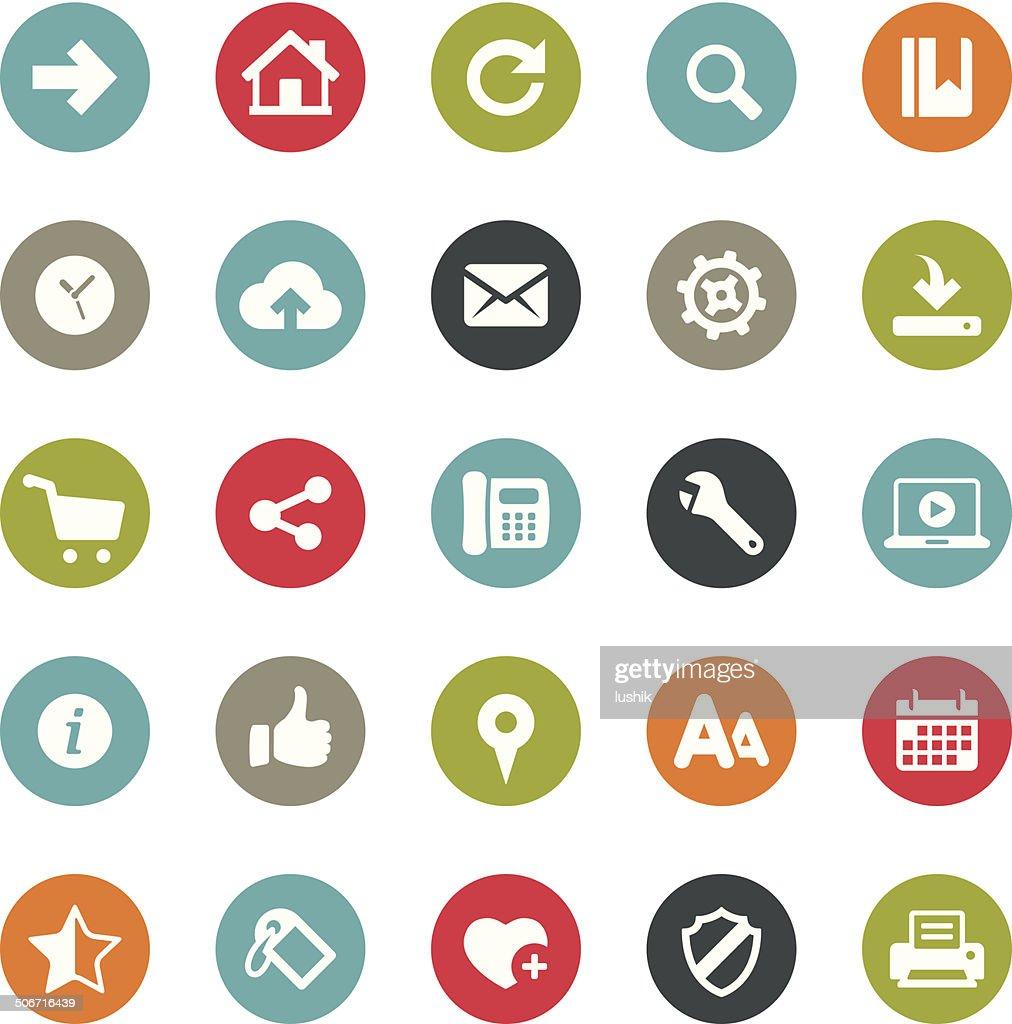 Homepage icons / Ringico series