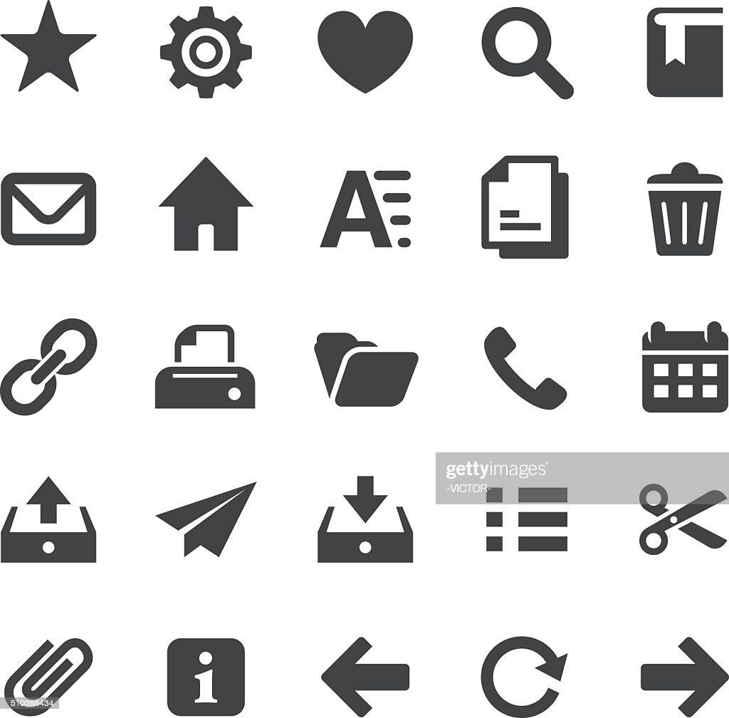 ホームページのアイコンセット-スマートシリーズ : ストックイラストレーション