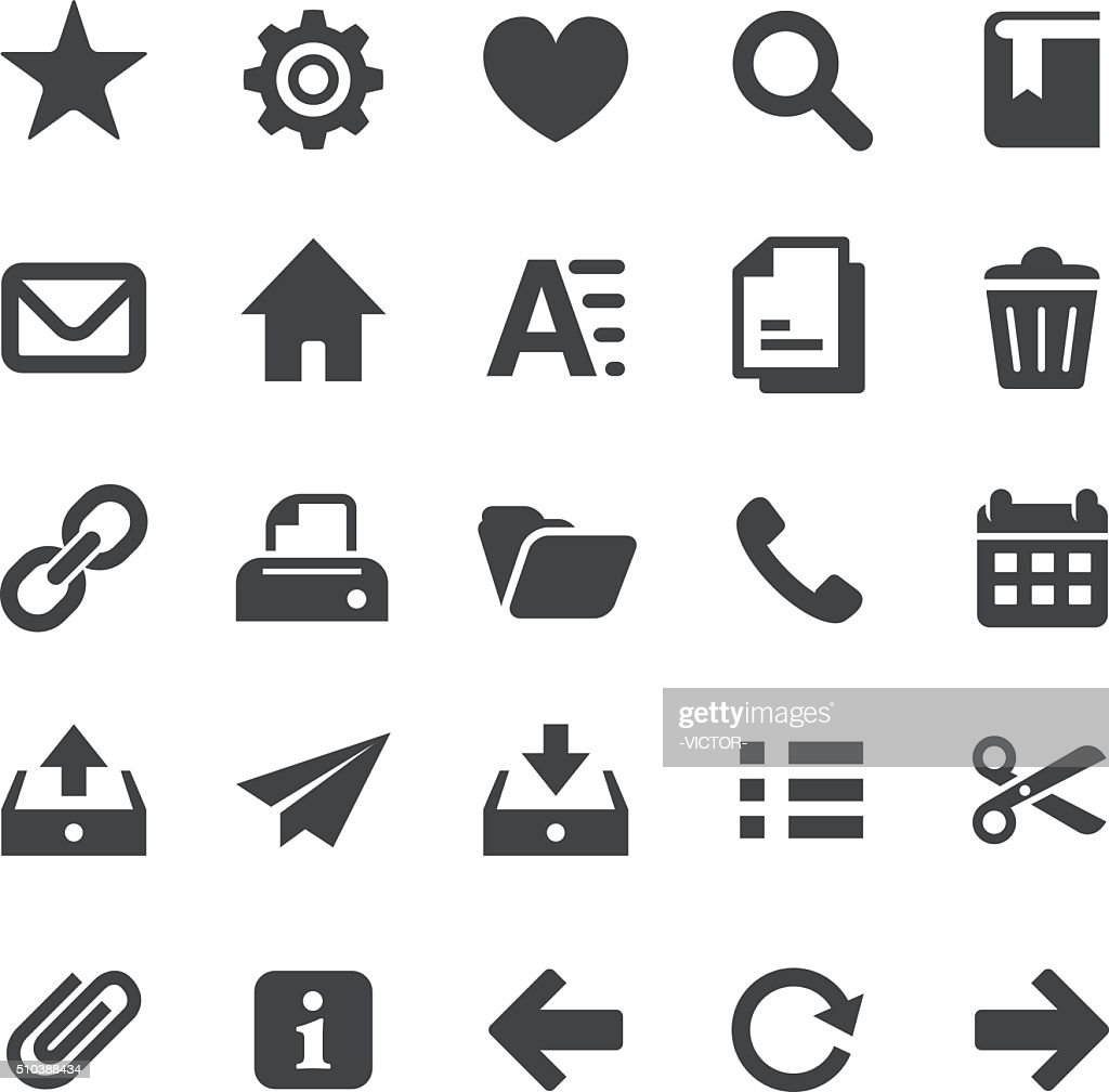 Homepage Icons Set - Smart Series