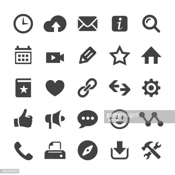ホームページのアイコン-スマートシリーズ - ホームページ点のイラスト素材/クリップアート素材/マンガ素材/アイコン素材