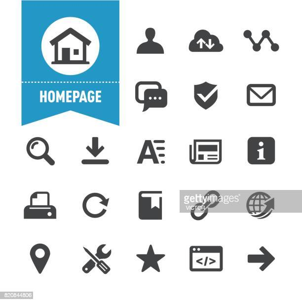 homepage icons - special series - information symbol stock illustrations, clip art, cartoons, & icons
