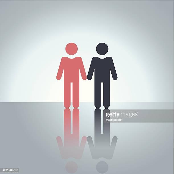 Homosexual couple