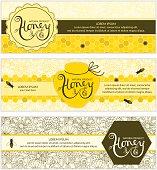 Honey banners.