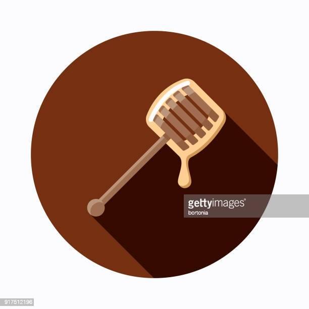 Honey Flat Design Baking Icon