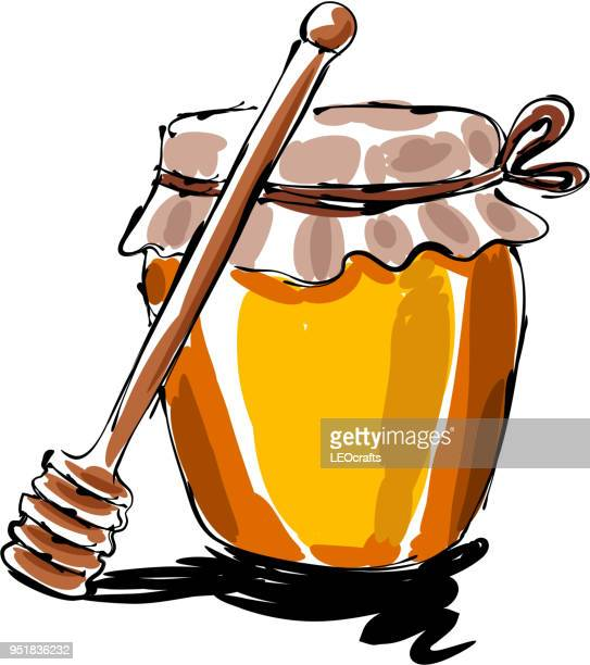 Honey Jar Drawing