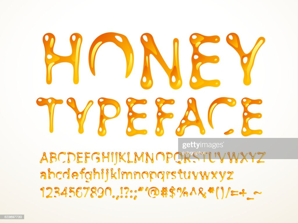 Honey typeface