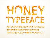 Honey typeface