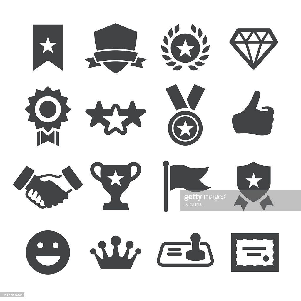 Honor and Success Icons - Acme Series