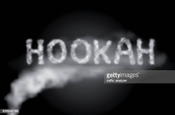 hookah smoke - hookah stock illustrations, clip art, cartoons, & icons