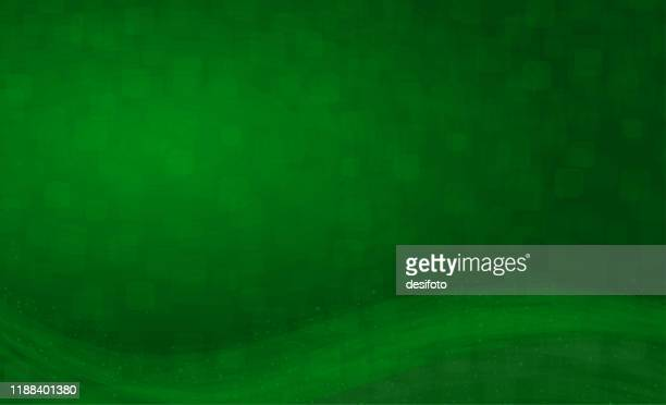 a horizontal creative green colored self chequered/ checkered background- vector illustration with glittery wave pattern - emerald green stock illustrations