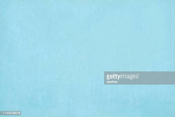horizontal frame vector illustration of an empty blank sky blue coloured grungy textured background - light blue stock illustrations