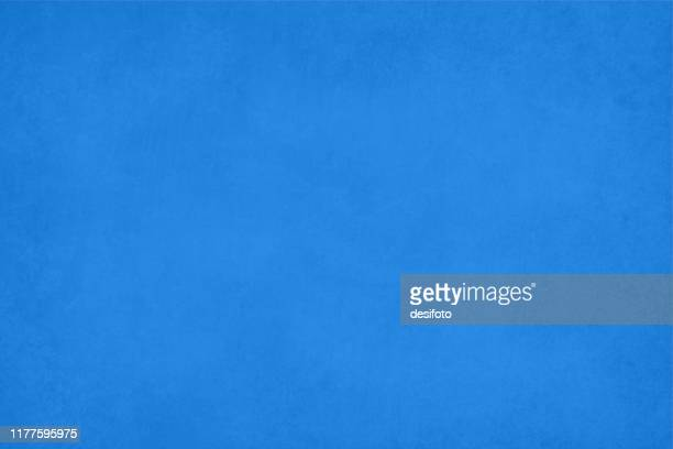 horizontal grunge grungy vector illustration of an empty smudged blue colored textured background - crumpled stock illustrations