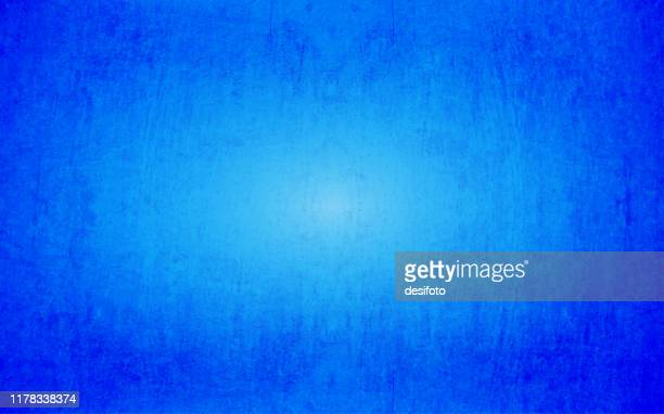 horizontal grunge grungy vector illustration of an empty smudged royal blue colored textured background - royal blue background stock illustrations