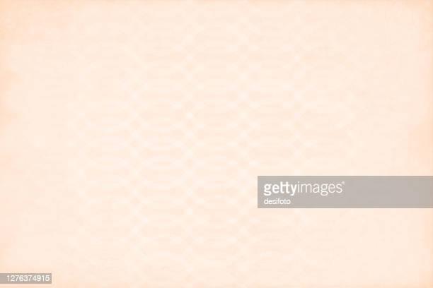 horizontale illustration eines leeren beigefarbenen strukturierten interlocked wellen gestreiftvektor halb nahtlose hintergründe (das wellendesign ist nahtlos, während der grunge nicht) - tapete stock-grafiken, -clipart, -cartoons und -symbole
