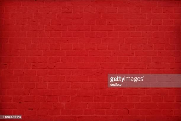 水平近代的な明るい赤い色のレンガのパターン壁テクスチャグランジ背景ベクトルイラスト - 煉瓦点のイラスト素材/クリップアート素材/マンガ素材/アイコン素材