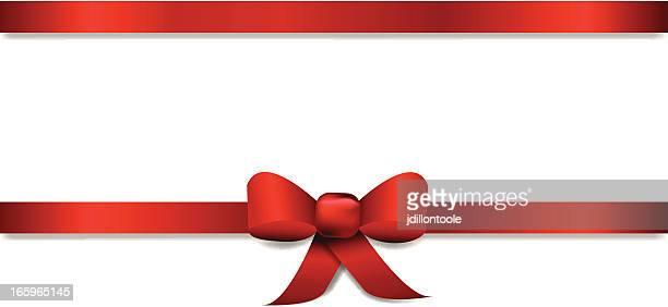 horizontal ribbon title banner - aids awareness ribbon stock illustrations