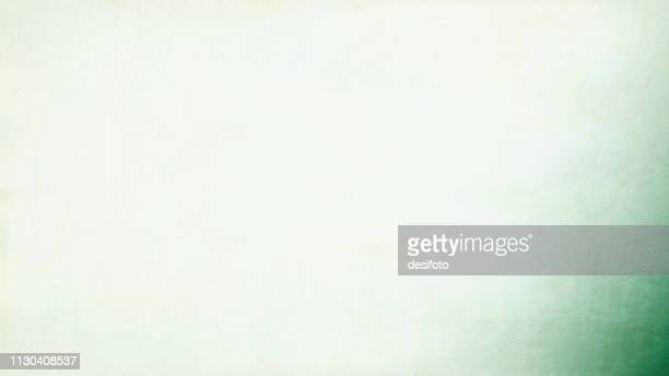 a horizontal vector grunge illustration in pale white and a bit of green color - cream coloured stock illustrations
