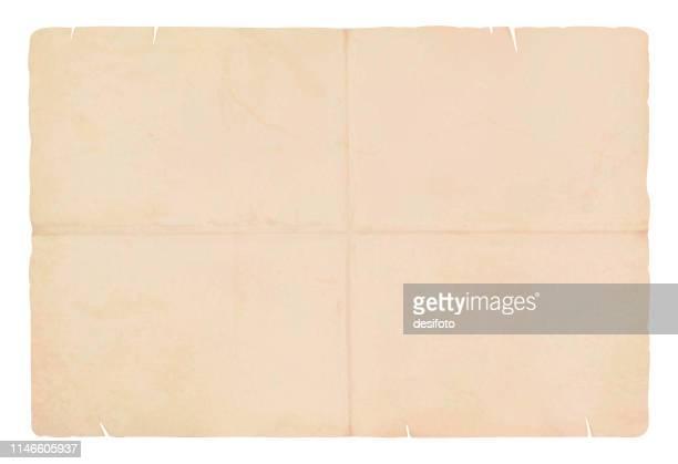 eine horizontale vektorillustration einer schlichten, von weiß gefärbten, gestreichten seite aus einem spiralförmigen notizblock - verblichen stock-grafiken, -clipart, -cartoons und -symbole