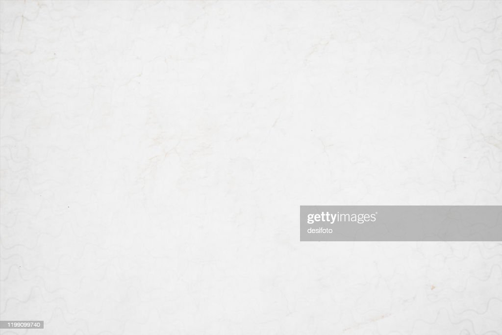A horizontal vector illustration of a plain grunge effect blank white colored old blotched background : stock illustration