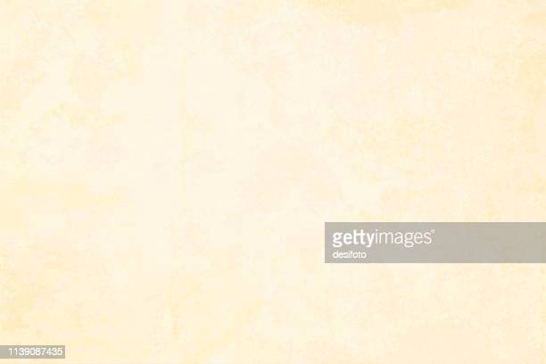 horizontal vector illustration of an empty beige grungy blotchy textured background - marbled effect stock illustrations
