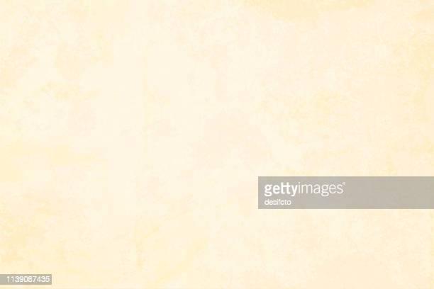 horizontale vektorabbildung eines leeren beige grungy, stöbelig strukturierten hintergrundes - beige stock-grafiken, -clipart, -cartoons und -symbole