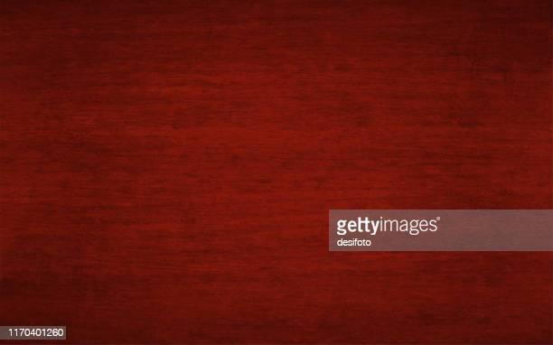 stockillustraties, clipart, cartoons en iconen met horizontale vector illustratie van een lege donker rode kastanjebruine of wijn gekleurde grunge getextureerde achtergrond - bordeauxrood