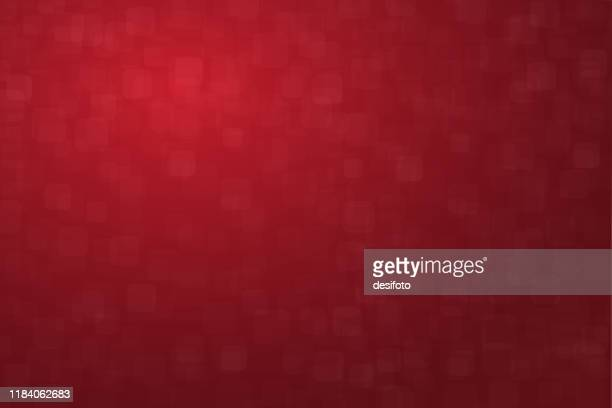horizontal vector illustration of an empty dark red maroon or wine  colored grunge small squares with rounded corners self pattern textured background - maroon stock illustrations