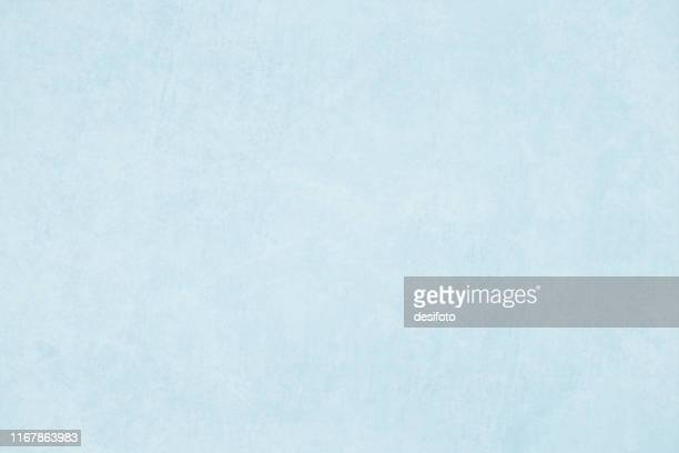 horizontal vector illustration of an empty light blue grungy textured background - blue stock illustrations