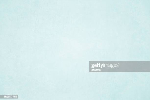 horizontal vector illustration of an empty light blue grungy textured background - pastel colored stock illustrations