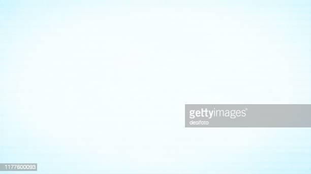 horizontal vector illustration of an empty light blue grungy textured background - light blue stock illustrations
