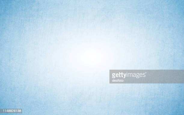 horizontal vector illustration of an empty light bluish grey grungy textured background - light blue stock illustrations