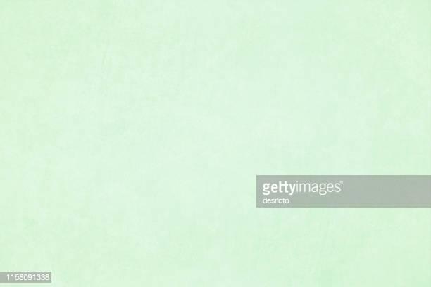 stockillustraties, clipart, cartoons en iconen met horizontale vector illustratie van een lege licht groene kleur grungy textuur achtergrond - pastelkleurig