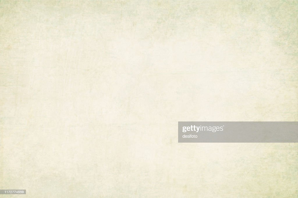 Horizontal vector Illustration of an empty light green pale grey colored grungy textured stock background : stock illustration