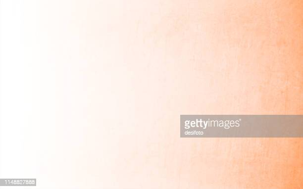 horizontal vector illustration of an empty light orange and white blend of grungy textured background - two tone color stock illustrations