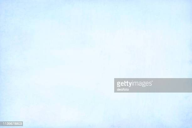 horizontal vector illustration of an empty sky blue coloured grungy textured background - scratched stock illustrations