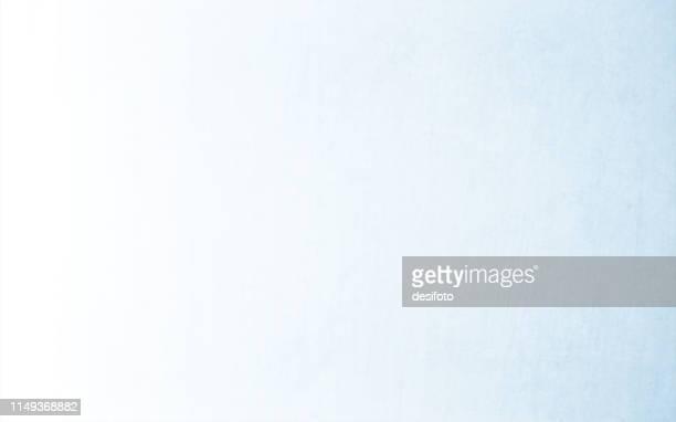 ilustraciones, imágenes clip art, dibujos animados e iconos de stock de vector horizontal ilustración de un fondo vacío muy claro azul y blanco con textura grungy - mala condición
