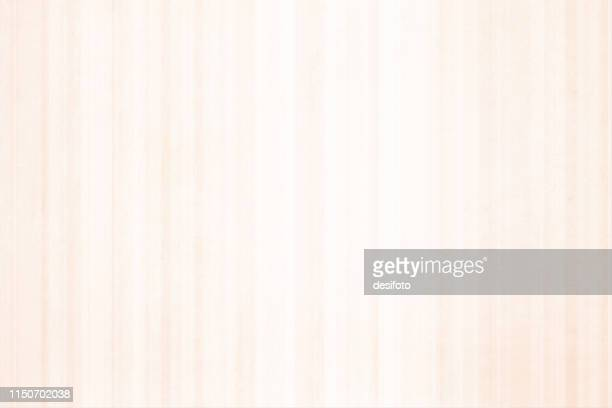 horizontal vector illustration of an empty very light brown grungy textured background with vertical self stripes - cream colored stock illustrations