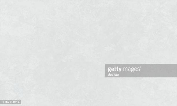 horizontal vector illustration of an empty white grey shade grunge textured background - crumpled stock illustrations