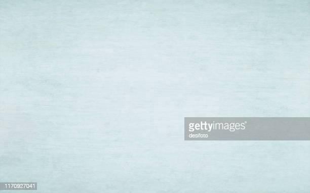 stockillustraties, clipart, cartoons en iconen met horizontale vector voorraad illustratie van een lege licht blauw geschilderd hout effect grungy getextureerde achtergrond - lichtblauw