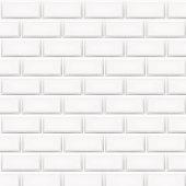 Horizontal white tiles background. Vector illustration.