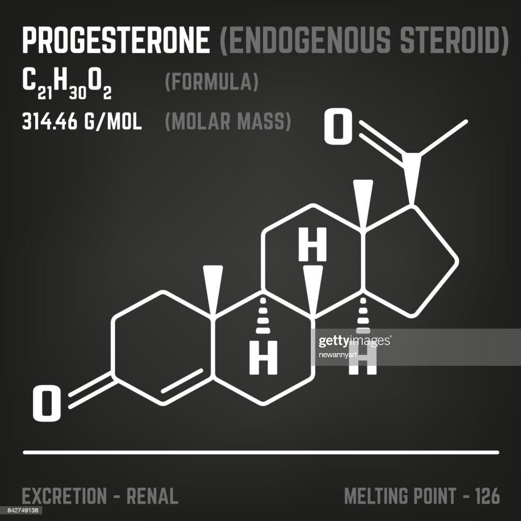 Hormone Molecule Image