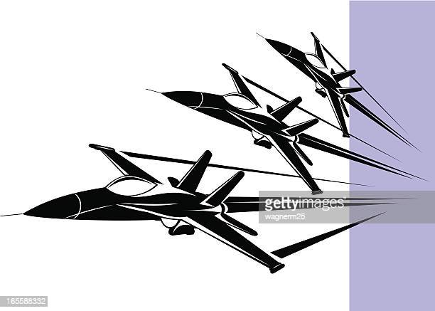 f-18 hornet - fa 18 hornet stock illustrations