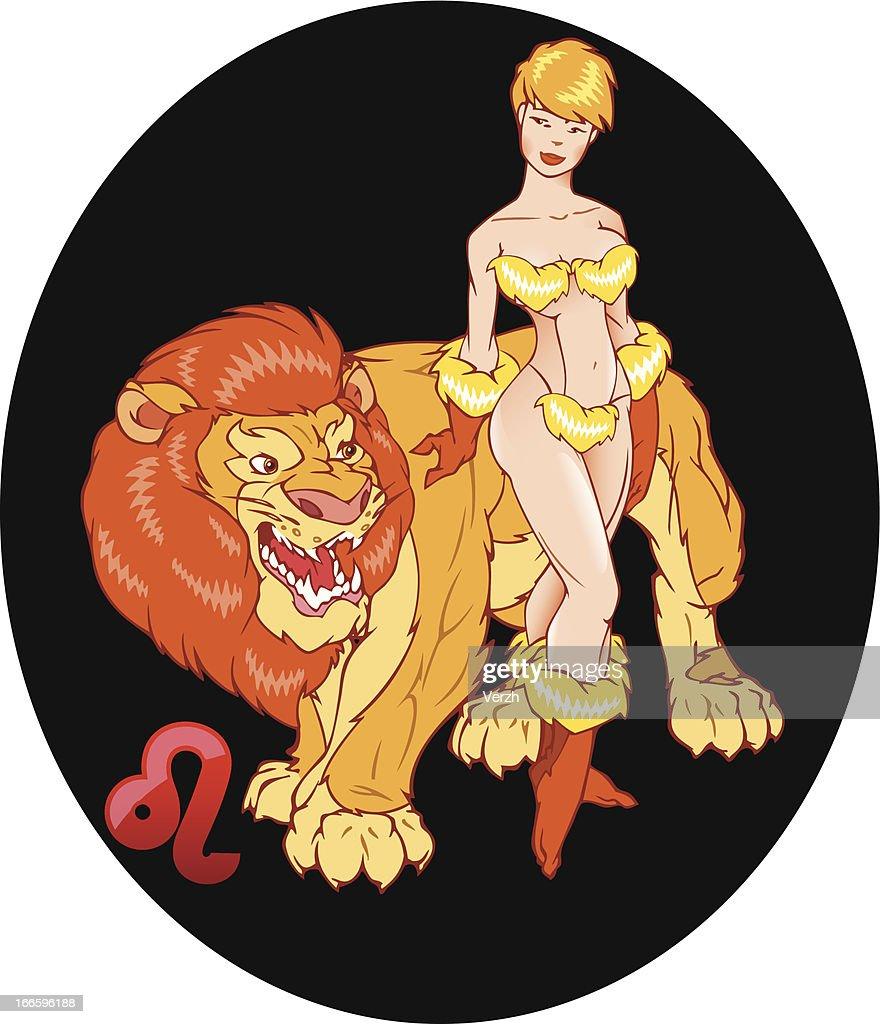 Horoscope. Lion.