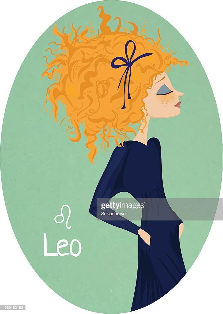 Horoscope. Zodiac signs-Leo
